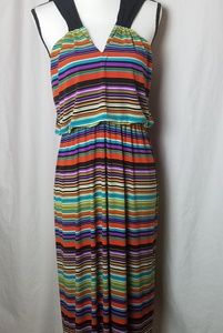 ENFOCUS STUDIO Multicolor Stripes Maxi Dress 14